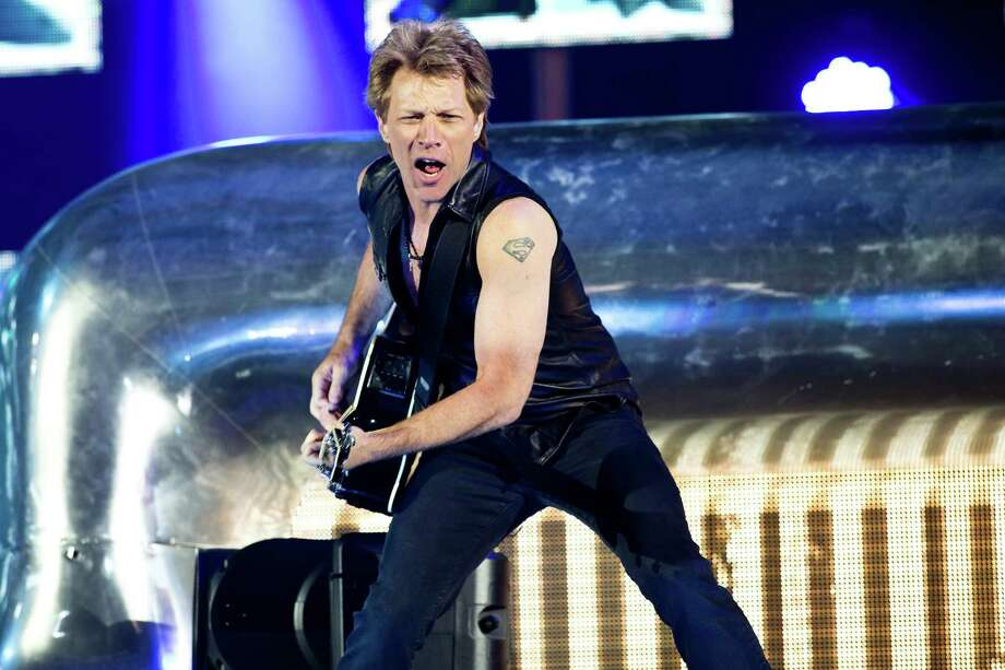 Bon Jovi performs on June 6, 2013 at the Parken Stadium in Copenhagen, Photo: AFP, AFP/Getty Images / 2013 AFP