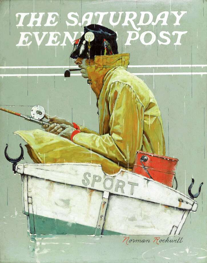"This undated photo provided by Sotheby's in New York shows a Norman Rockwell painting, ""Sport,"" that was discovered missing from a Queens storage facility, according to the New York Police Department. The oil painting was sold from a private collector in Birmingham, Ala., at a Sotheby's auction in New York on May 22. Police didn't identify the owner. (AP Photo/Sotheby's) ORG XMIT: NYR101 / Sotheby's"