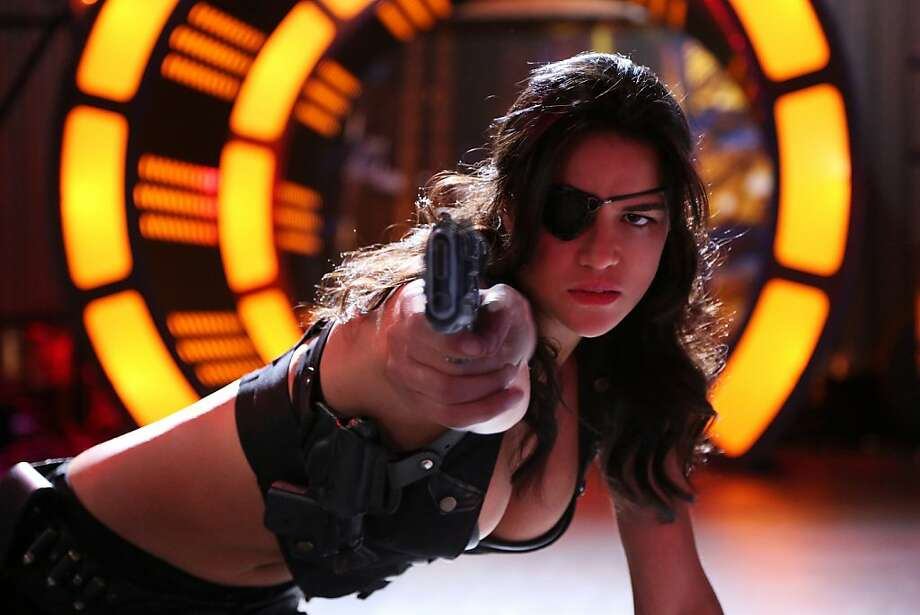 "Michelle Rodriguez in ""Machete Kills."" Photo: Rico Torres, Open Road Films"