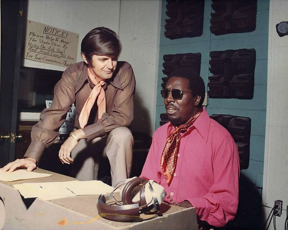 Soul singer Clarence Carter (right) was one of the recording artists at Rick Hall's Fame Studios that helped put Muscle Shoals, Ala., on the musical map. Photo: Courtesy Of Magnolia Pictures