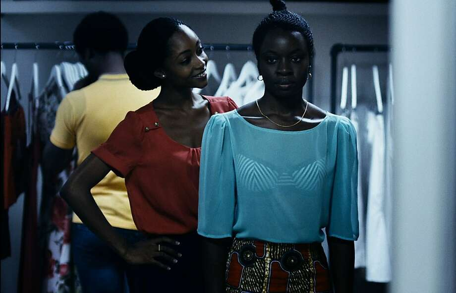 Danai Gurira (right) is the wife who can't conceive and Yaya Alafia her friend in 'Mother of George.' Photo: Oscilloscope Laboratories