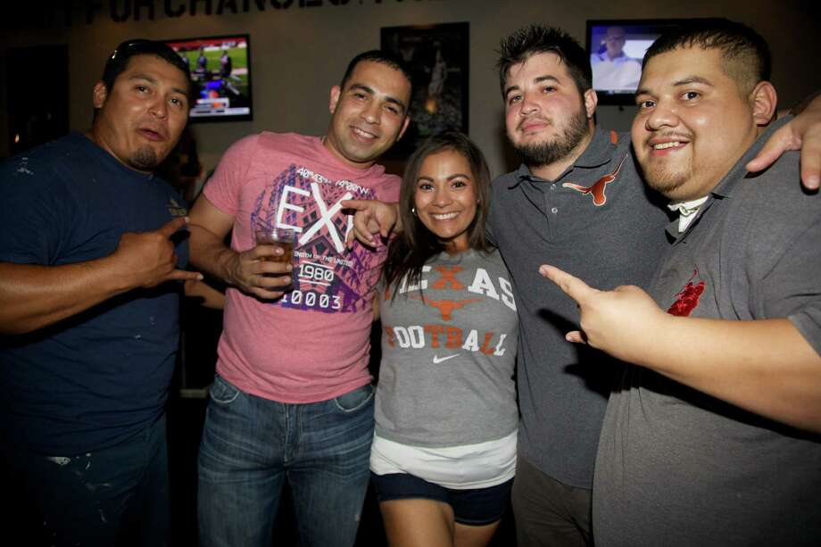 Mondie Vela (from left), Steve Navarro, Arlene Vele, Kevin Garza and Tony Regaldo