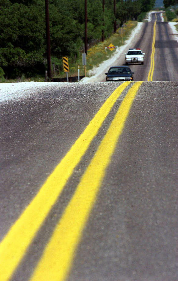 Beware of the 40 mph Talley Road. - Harry Thomas Photo: KIN MAN HUI, SAN ANTONIO EXPRESS-NEWS / SAN ANTONIO EXPRESS-NEWS