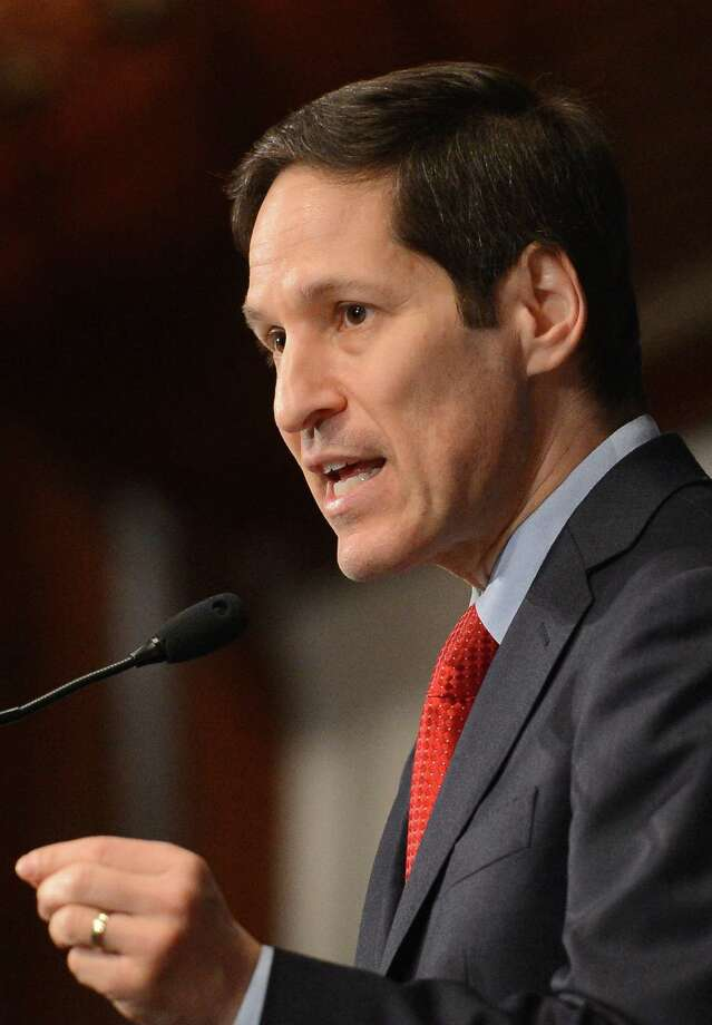 Thomas R. Frieden, director of the Centers for Disease Control and Prevention, speaks at the National Press Club. The CDC is proof that government is essential. Photo: McClatchy-Tribune News Service