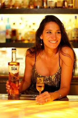 Carin Luna-Ostaseski is the founder of SIA, a 86 proof blended Scotch, that will be available at upscale stores such as K&L Wines, the Whisky Shop and the San Francisco Wine Trading Company in August.