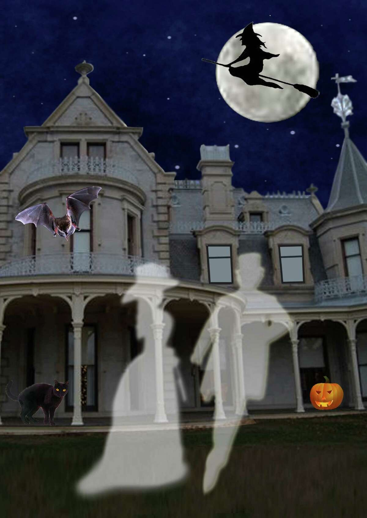 The Lockwood-Mathews Mansion Museum is the spooky site for three Halloween events: Ghostly Sightings Tours, Haunted Basement Tours and an Oct. 26 Victorian Villains Halloween Costume Party. All events are appropriate for adults.