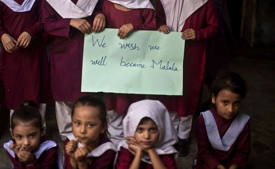 NumbersThere are 1.1 billion girls in the world. Compared to their brothers, they are more likely to be killed or abandoned by their parents. Photo: Muhammed Muheisen, STF / AP