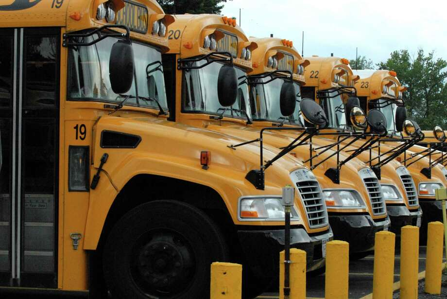 South Colonie School District  busses are pictured June, 18, 2008. (Michael P. Farrell/Times Union) Photo: Michael P. Farrell / Albany Times Union