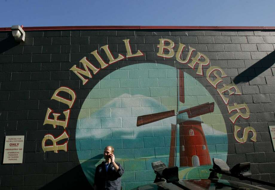 "Red Mill Burgers: Seattle loves this local burger chain, where the fixins - crispy bacon, smoky ""mill sauce,"" gooey American cheese - elevate the patty. The verde veg burger gets a similar lift with roasted peppers and jack cheese.