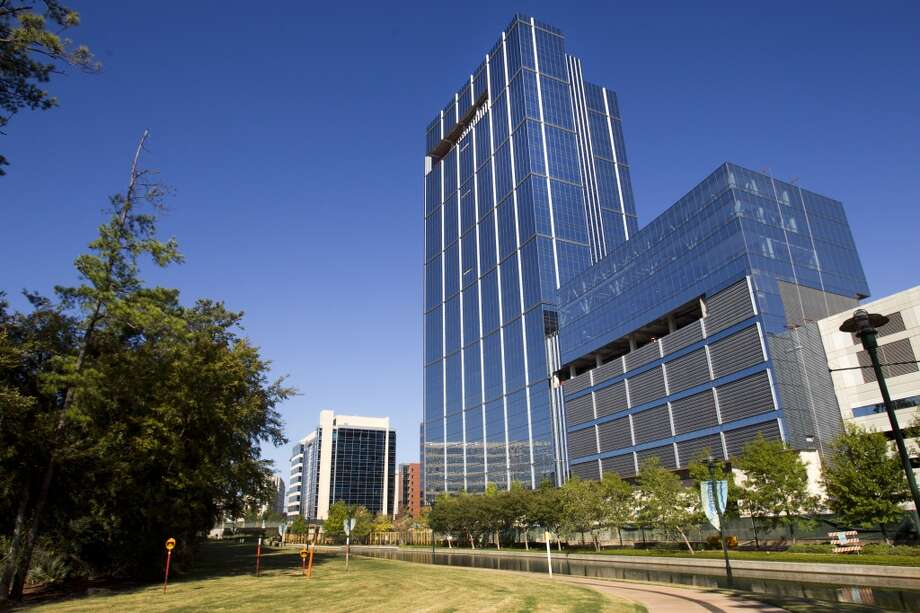 Anadarko's new Hackett Tower, at 1201 Lake Robbins Drive in The Woodlands, is shown on Oct. 9, 2013. Photo: Brett Coomer, Houston Chronicle