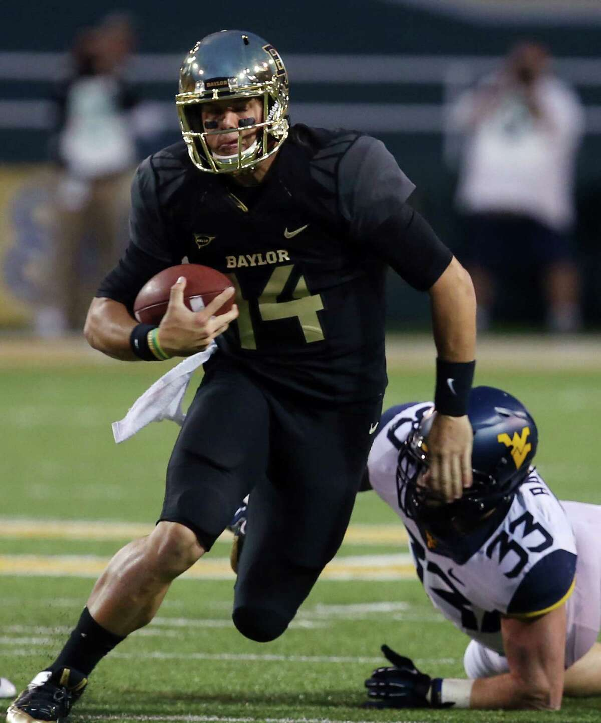 Best hope - The Bears' prolific offense keeps its record-setting pace as their opposition turns stiffer. Biggest worry - Somebody figures out how to slow Baylor's offense, exposing their defense in the process. Curious factoid - The combined record of Baylor's remaining opponents in 28-10, with TCU accounting for five of those losses. Baylor's first seven opponents had a combined record of 24-29.Prediction - 11-1, 8-1 Bowl - Fiesta