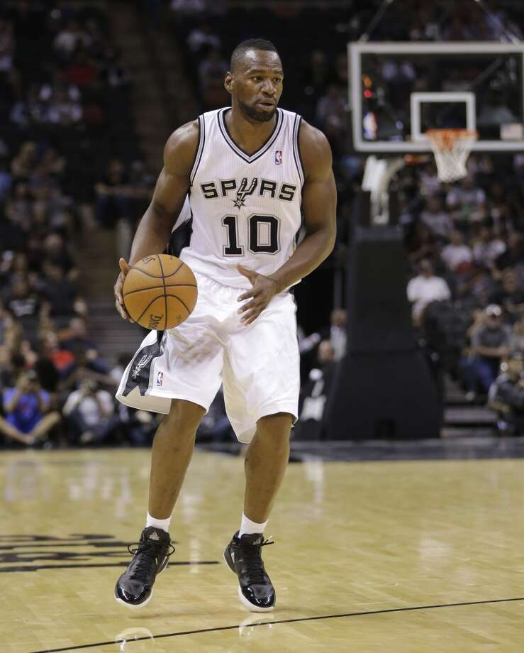 San Antonio Spurs' Sam Young during the second half of an exhibition NBA basketball game against CSKA Moscow, Wednesday, Oct. 9, 2013, in San Antonio. San Antonio won 95-93 in overtime. Photo: Eric Gay, Associated Press