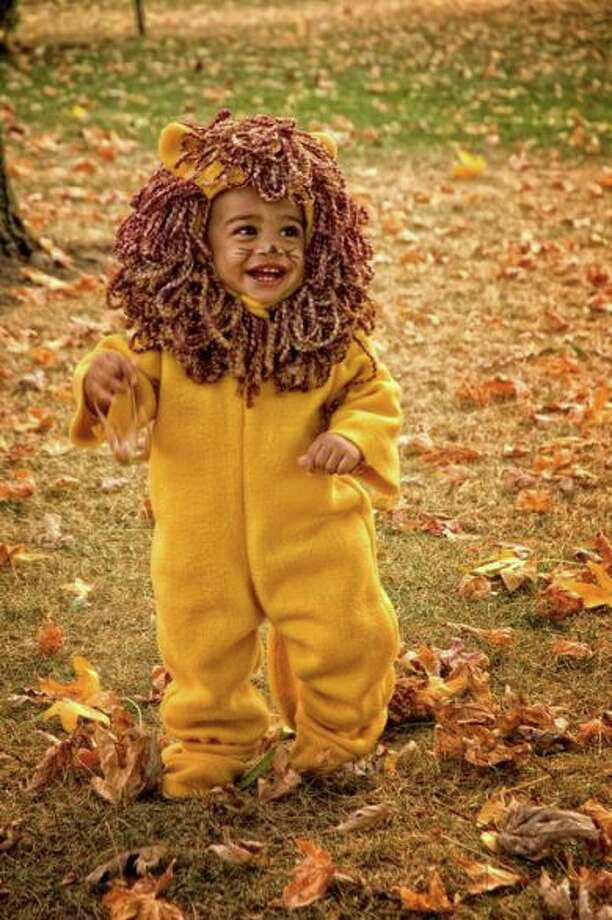LION (2010) A lot of the youngest kids seem uncomfortable in their excellent costumes, but 13-month-old Malakai seems to really be enjoying both his costume and role as king of the beasts.