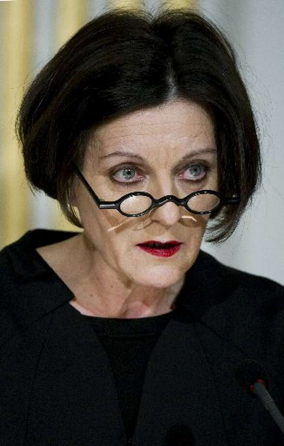 Herta Mueller, 2009, German-Romanian. (AP)