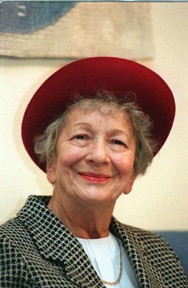 Wislawa Szymborska, 1996, Polish. (AP)