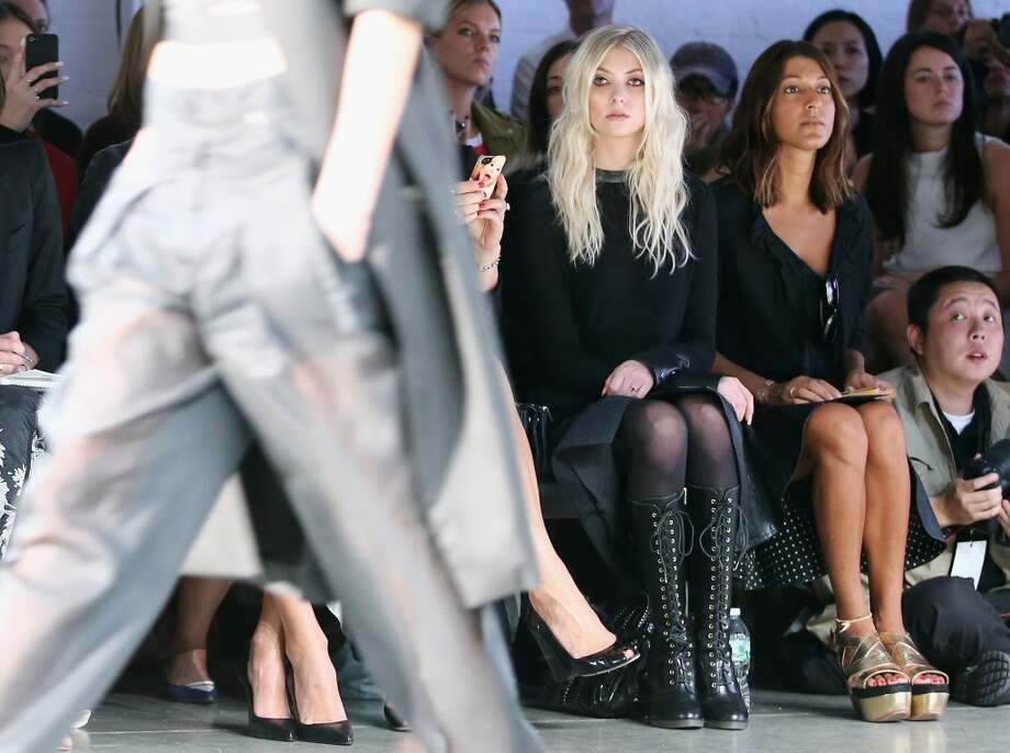 Fashion Week, Sept. 2013 Photo: Neilson Barnard, (Credit Too Long, See Caption)