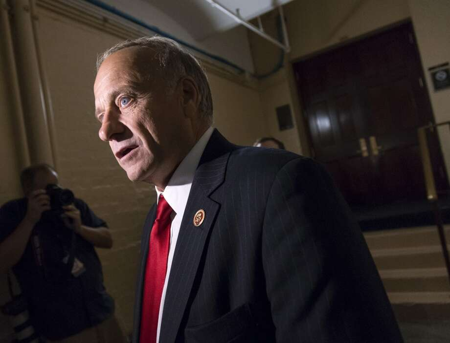 "Rep. Steve King, R-Iowa:  ""I don't think the credit of the United States is going to be collapsed.  I think that all this talk about a default has been a lot of demagoguery, a lot of false demagoguery."" Photo: J. Scott Applewhite, AP"
