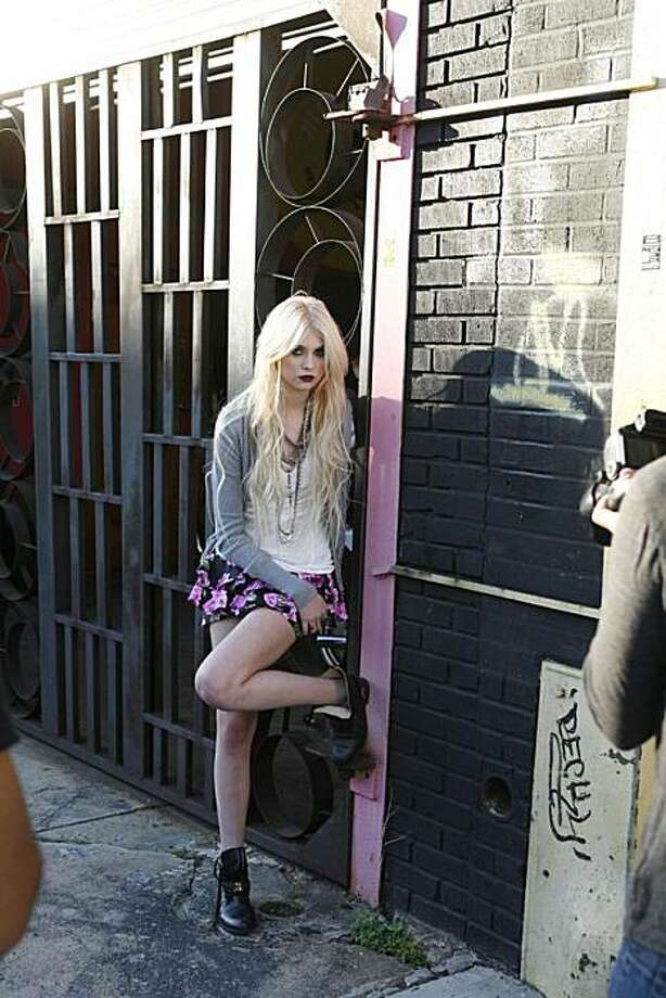 In 2010 as the face of Madonna's Material Girl juniors fashion line.