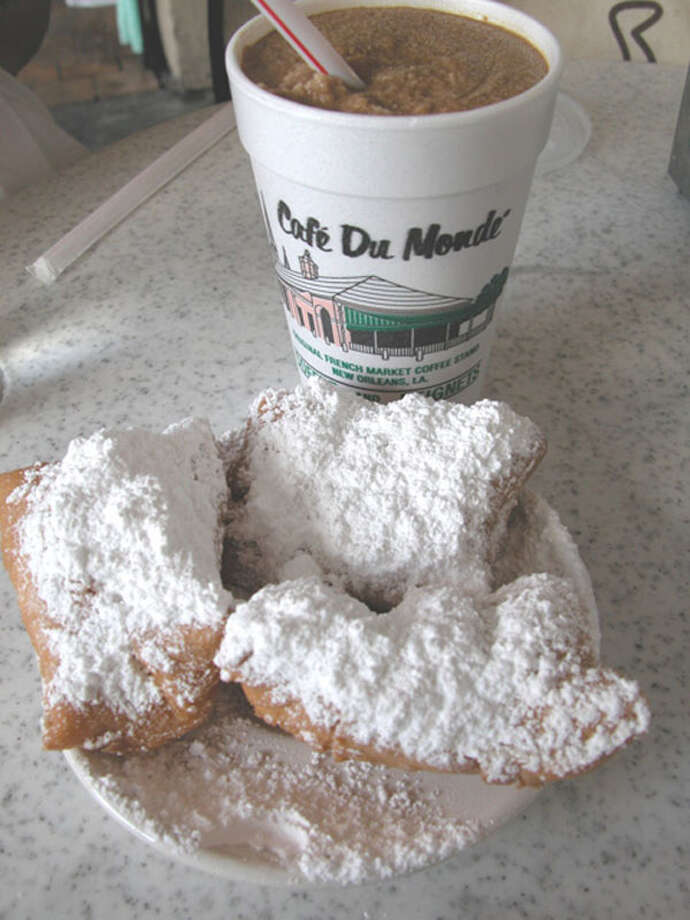 beignets at Café du Monde Photo: Courtesy Of Jason Perlow / handout email
