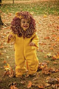 LION (2010) A lot of the youngest kids seem uncomfortable in their excellent costumes, but 13-month-old Malakai seems to really be enjoying both his costume and role as king of the beasts. Photo: Courtesy Nick Murray
