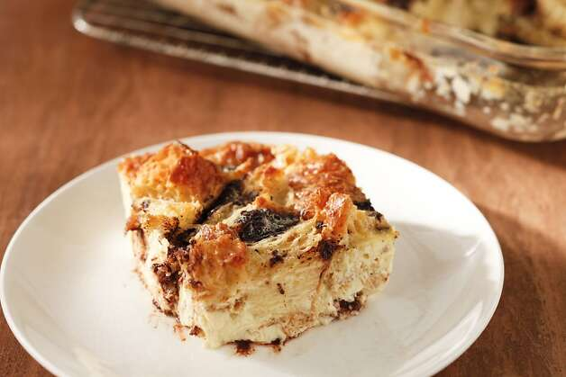 Bread pudding goes upscale - SFGate