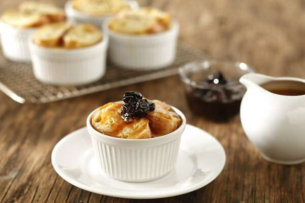 Bread pudding goes upscale