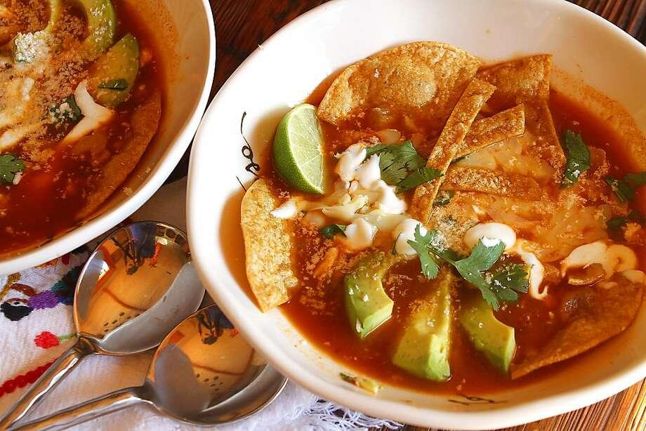 Sopa de Tortilla Photo: Robert McMahan