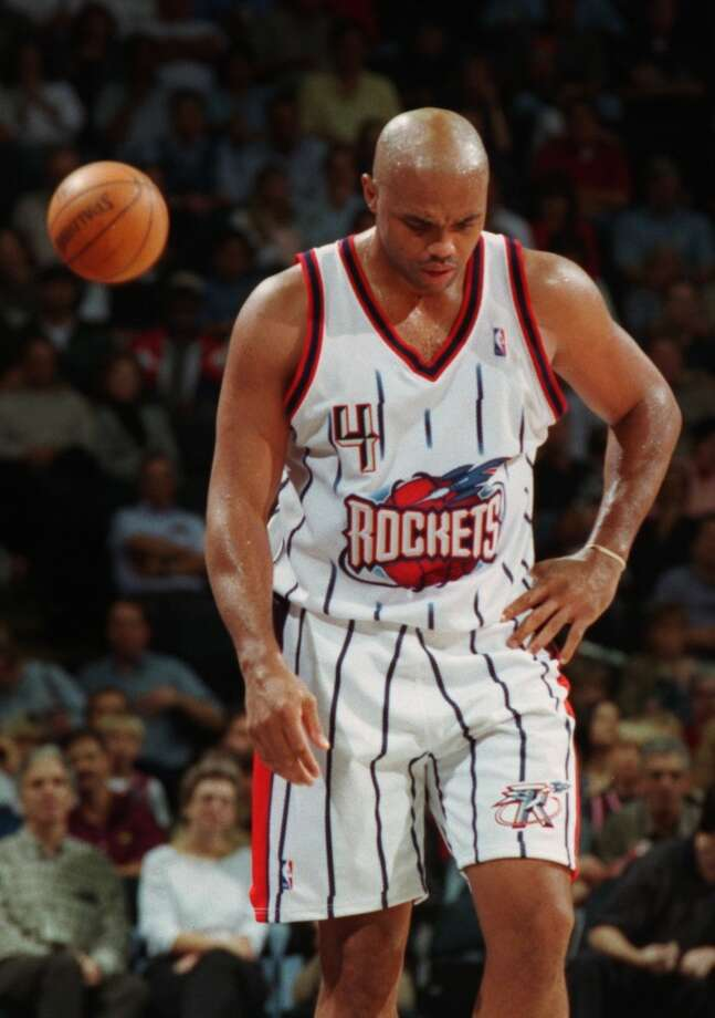 Few people look at Charles Barkley as someone to pick a fight with. He is recognized as one of the nicest guys in sports now, but he was an imposing figure on the basketball court. He had his fair share of troubles with the public when he was on the Rockets. Photo: Smiley N. Pool, Houston Chronicle