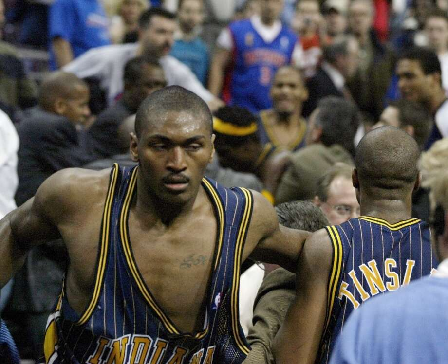 Metta World Peace, formerly known as Ron Artest, has always had a reputation for being a hothead. Photo: Duane Burleson, Associated Press