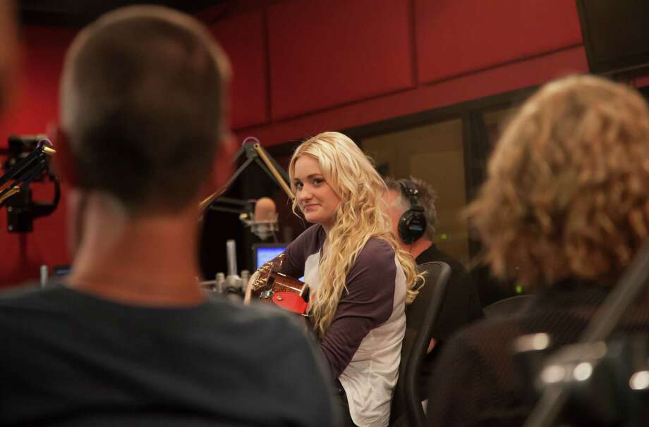 "In an undated handout photo, AJ Michalka as a searching pop singer in a€œGrace Unplugged."" The film takes its title character to Los Angeles for a career in the music industry and, ultimately, some life lessons from the Bible. (Roadside Productions via The New York Times) -- NO SALES; FOR EDITORIAL USE ONLY WITH STORY SLUGGED GRACE FILM REVIEW BY ANDY WEBSTER. ALL OTHER USE PROHIBITED. ORG XMIT: XNYT116 Photo: ROADSIDE PRODUCTIONS / Copyright:2011 JPYim"