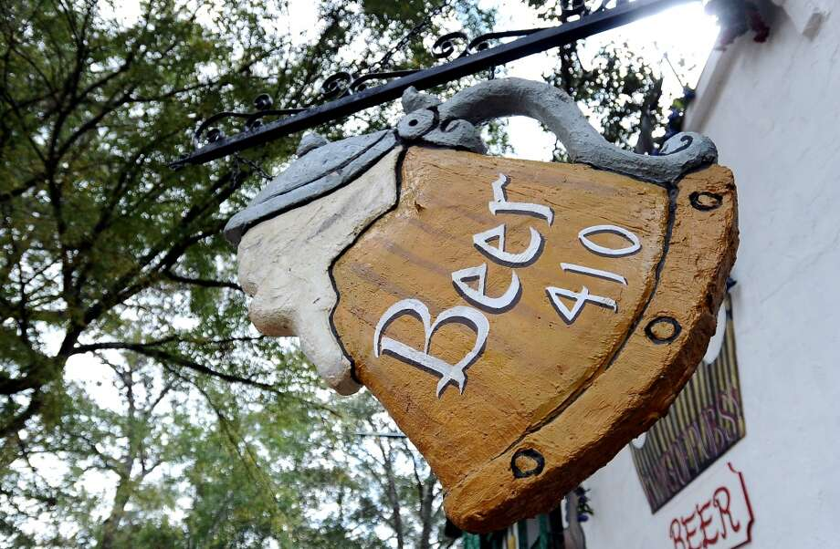 Festival bars support the craft beer market at the Texas Renaissance Festival in Plantersville, TX on Sunday, October 14, 2012. Photo taken: Randy Edwards/The Enterprise