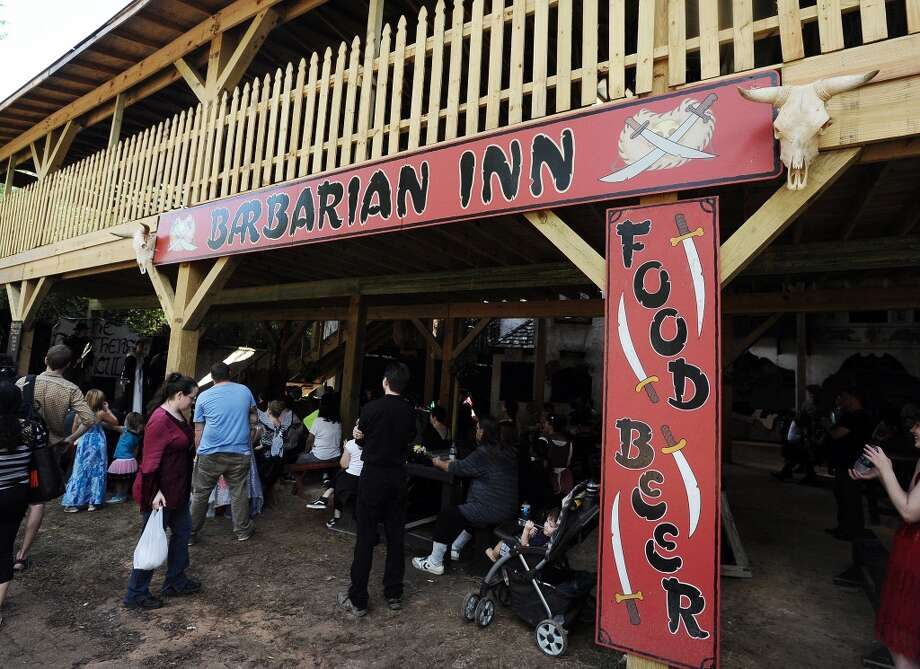 The Barbarian Inn is one of the newest editions to the Texas Renaissance Festival in Plantersville, TX on Sunday, October 14, 2012. Photo taken: Randy Edwards/The Enterprise