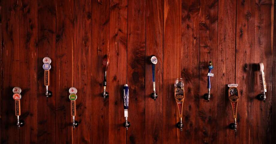 Festival bars like the Barbarian Inn support the craft beer market at the Texas Renaissance Festival in Plantersville, TX on Sunday, October 14, 2012. Photo taken: Randy Edwards/The Enterprise