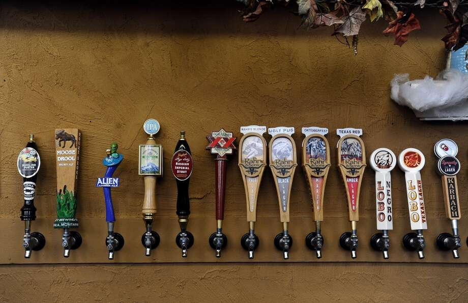 The Parthenon has by far the largest selection of craft beer and is located near the Greek Agora at the Texas Renaissance Festival in Plantersville, TX on Sunday, October 14, 2012. Photo taken: Randy Edwards/The Enterprise