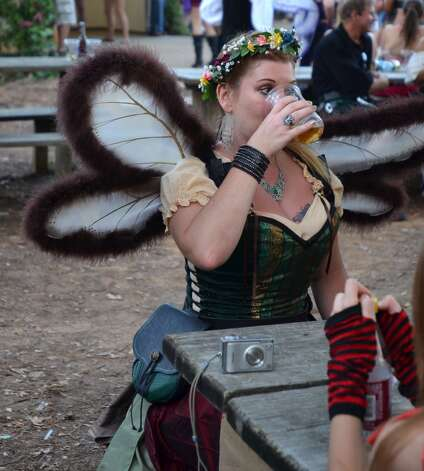The Sea Devil Tavern is a favorite place to eat, drink and fairy-watch the day away at the Texas Renaissance Festival. Beth Rankin/cat5