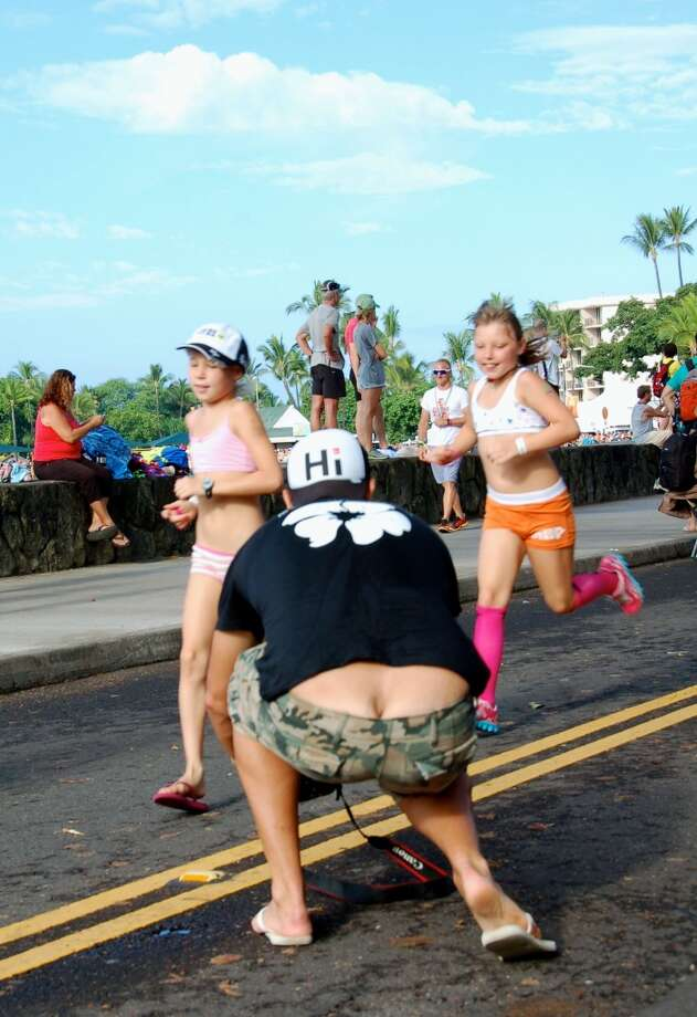 So many jokes, so little caption time. How 'bout: 'Crack photographer captures the winners of the Underpants Run.'  Feel free to add yours in the comments field. Photo: Jeanne Cooper, SFGate