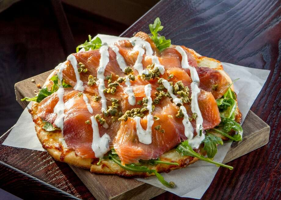 The Smoked Salmon Pizza ($10) at Three in San Mateo. Photo: John Storey, Special To The Chronicle