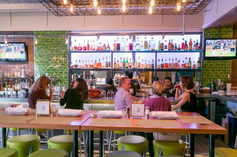 The bar at Three in San Mateo. Photo: John Storey, Special To The Chronicle