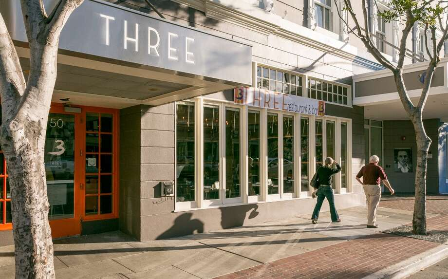 The exterior of Three in San Mateo. Photo: John Storey, Special To The Chronicle