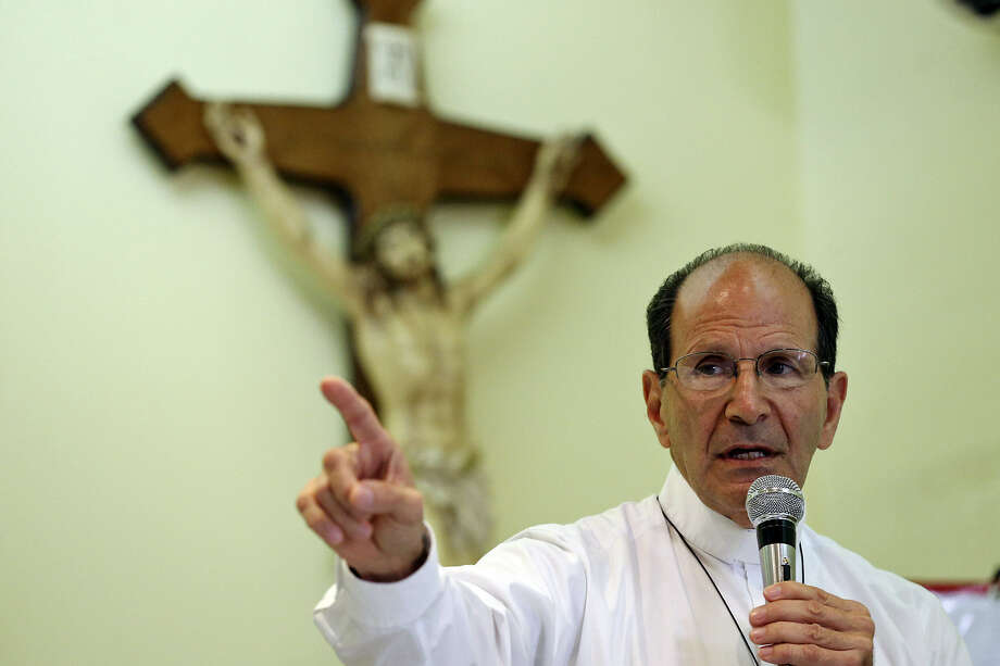 The Rev. Alejandro Solalinde Guerra speaks during a recent conference on immigrants  in Matamoros, Mexico. A reader says a recent Express-News article  detailing the dangers immigrants face after deportation ignores the fact that the undocumented brought the trouble on themselves by entering the U.S. illegally. Photo: Edward A. Ornelas / San Antonio Express-News