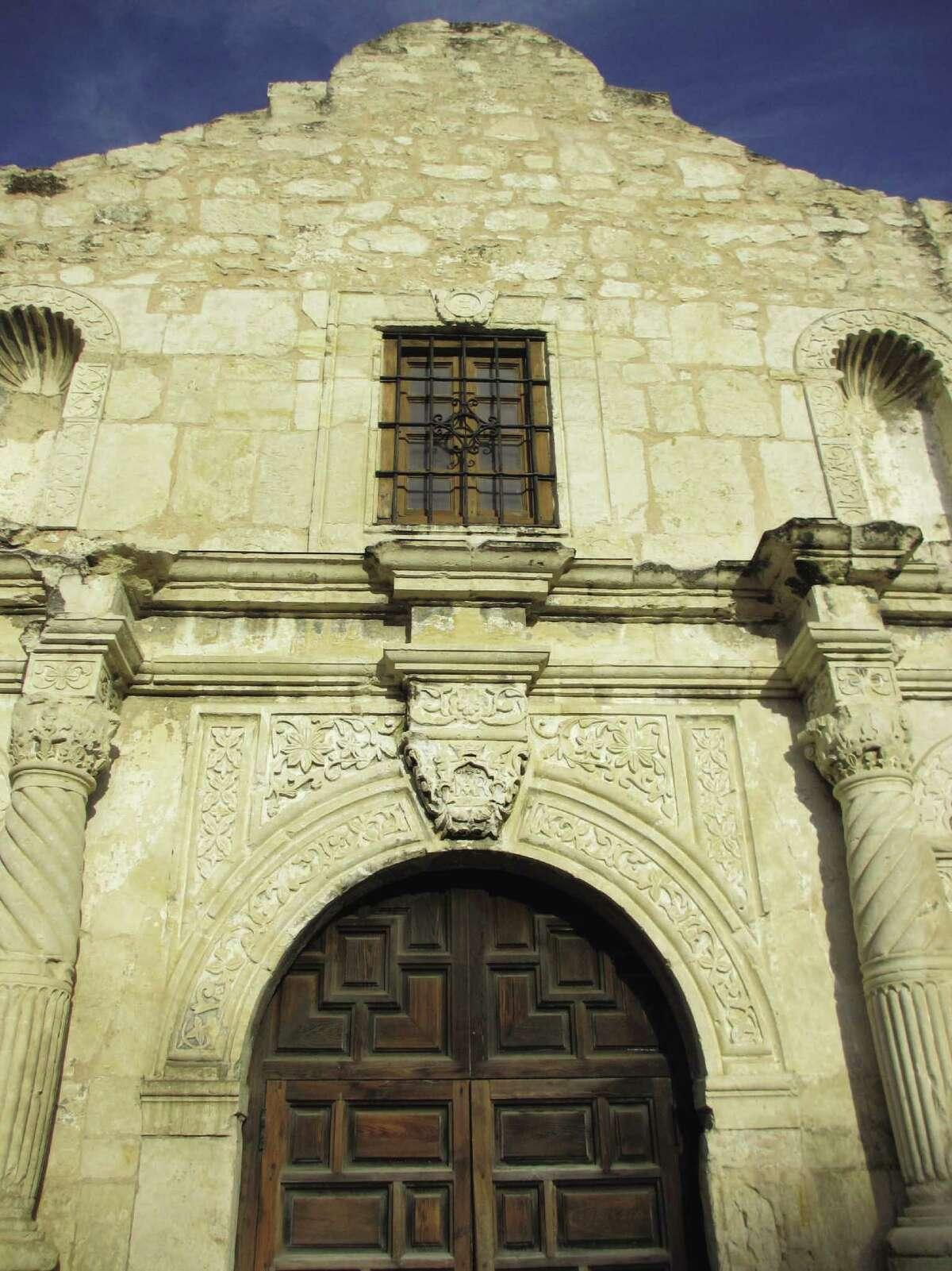 The Alamo church is not