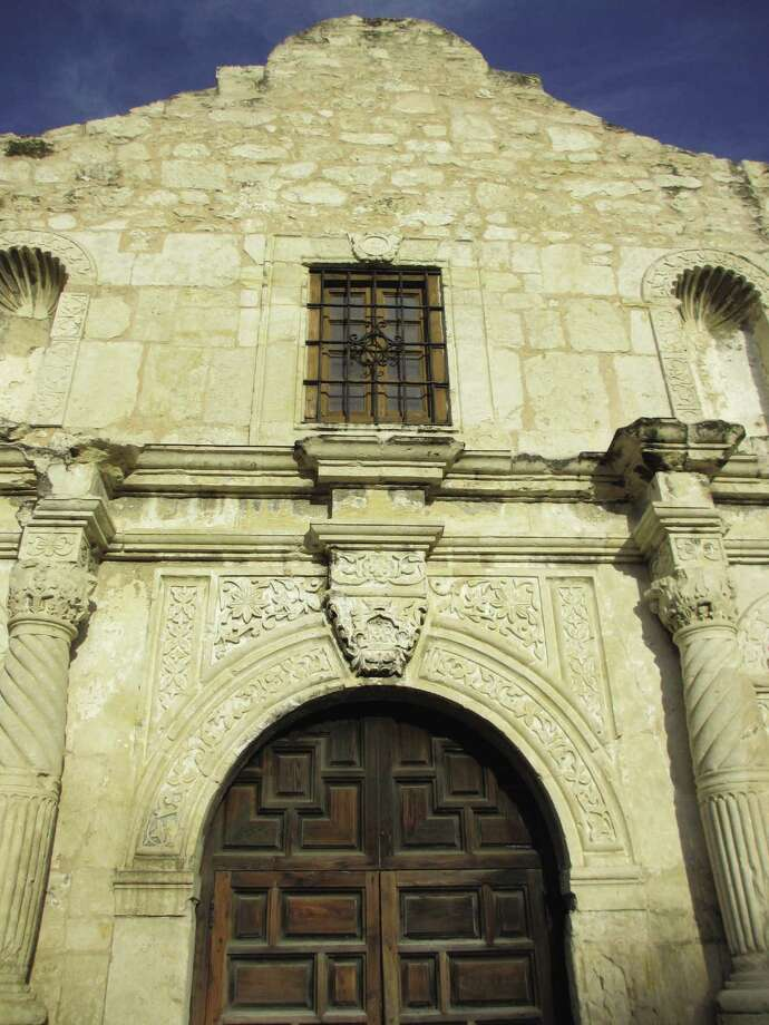 "The Alamo church is not ""The Alamo"" — it's only what's left. Photo: Terry Scott Bertling / San Antonio Express-News"
