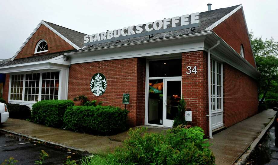 Starbucks in Newtown, Conn. Photo: Michael Duffy / The News-Times