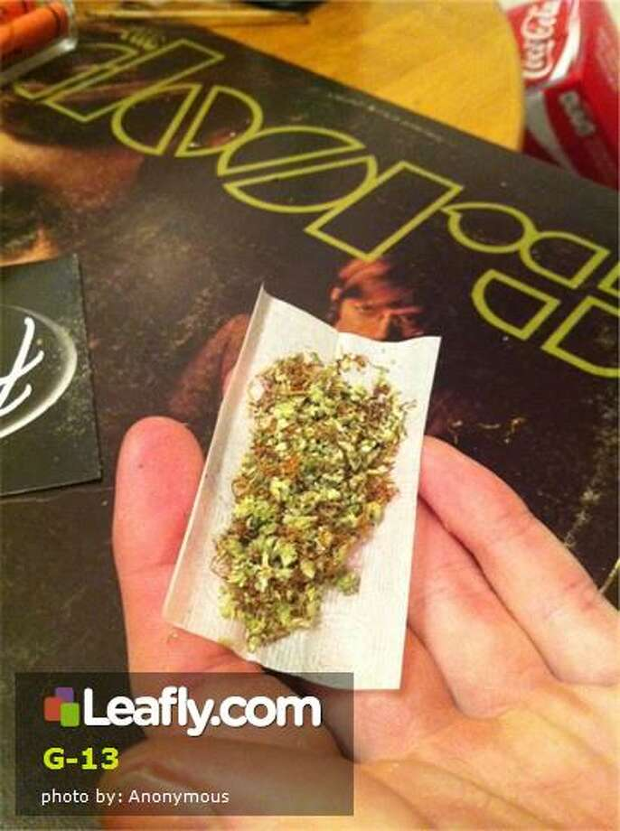 Here's  how Leafly.com describes the effects of this strain, based on user submissions: G-13 - G-13 is a very strong strain of cannabis indica that is the subject of many urban legends.  According to some accounts the CIA, FBI, and other agencies gathered the best strains of marijuana from breeders all over the world.  At a super-secret installation at the University of Mississippi they bred many new super hybrids in the late 1960s. Allegedly a single cutting of this plant was liberated by an unnamed technician and bred for the masses.
