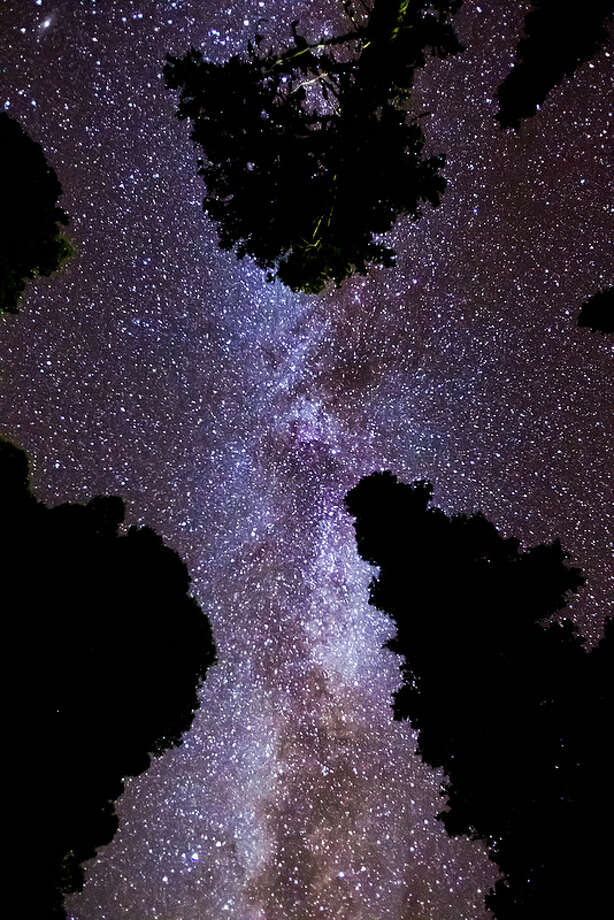 The Milky Way as photographed by Loren Mooney, a Senior Program Manager at Amazon, from Blewett Pass on Saturday, Oct. 5, 2013.Check out these photos and more on Loren Mooney's Flickr page. Photo: Loren Mooney/Flickr