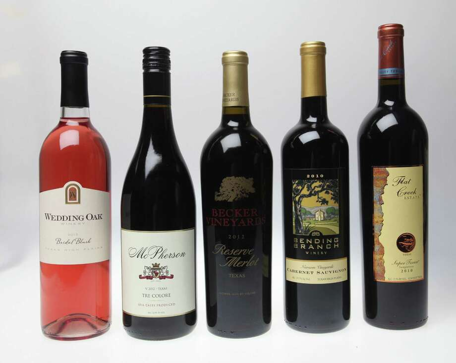Don't know what Texas wine to drink? These five, and five others, are a good place to start. Photo: Juanito M. Garza / San Antonio Express-News
