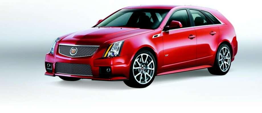 2013 Cadillac CTS-V Wagon