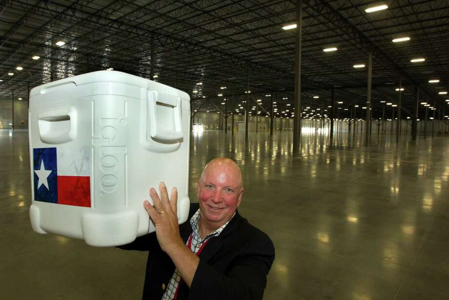 Igloo Products CEO Gary Kiedaisch poses for a portrait at the new  420,000 square foot distribution facility on Thursday, Oct. 10, 2013, in Katy. ( J. Patric Schneider / For the Chronicle ) Photo: J. Patric Schneider, Freelance / © 2013 Houston Chronicle