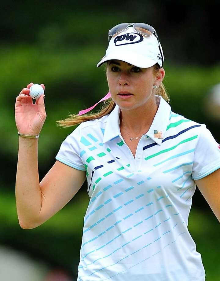 Paula Creamer shot a 66 and is tied for third at the LPGA Malaysia. Photo: Stanley Chou, Getty Images