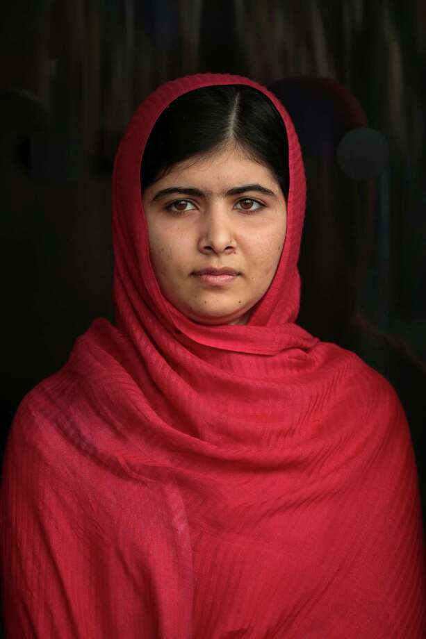 "Malala Yousafzai: Youngest Nobel Prize laureate, Pakistani activist""We must tell girls their voices are important."" ~Malala Yousafzai Photo: Getty Images"